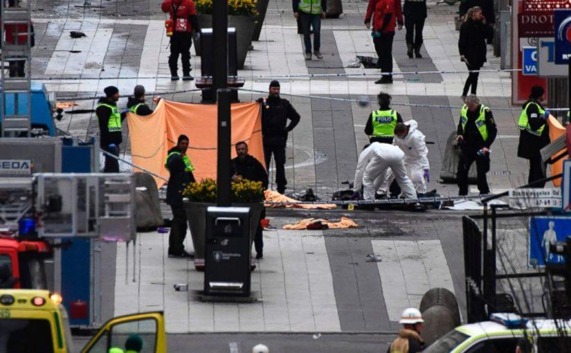 За рулем грузовика в Швеции сидел узбек